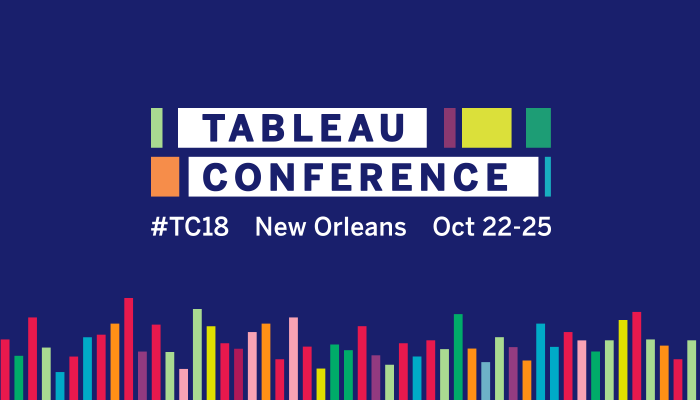 Event Details | Tableau Conference 2018